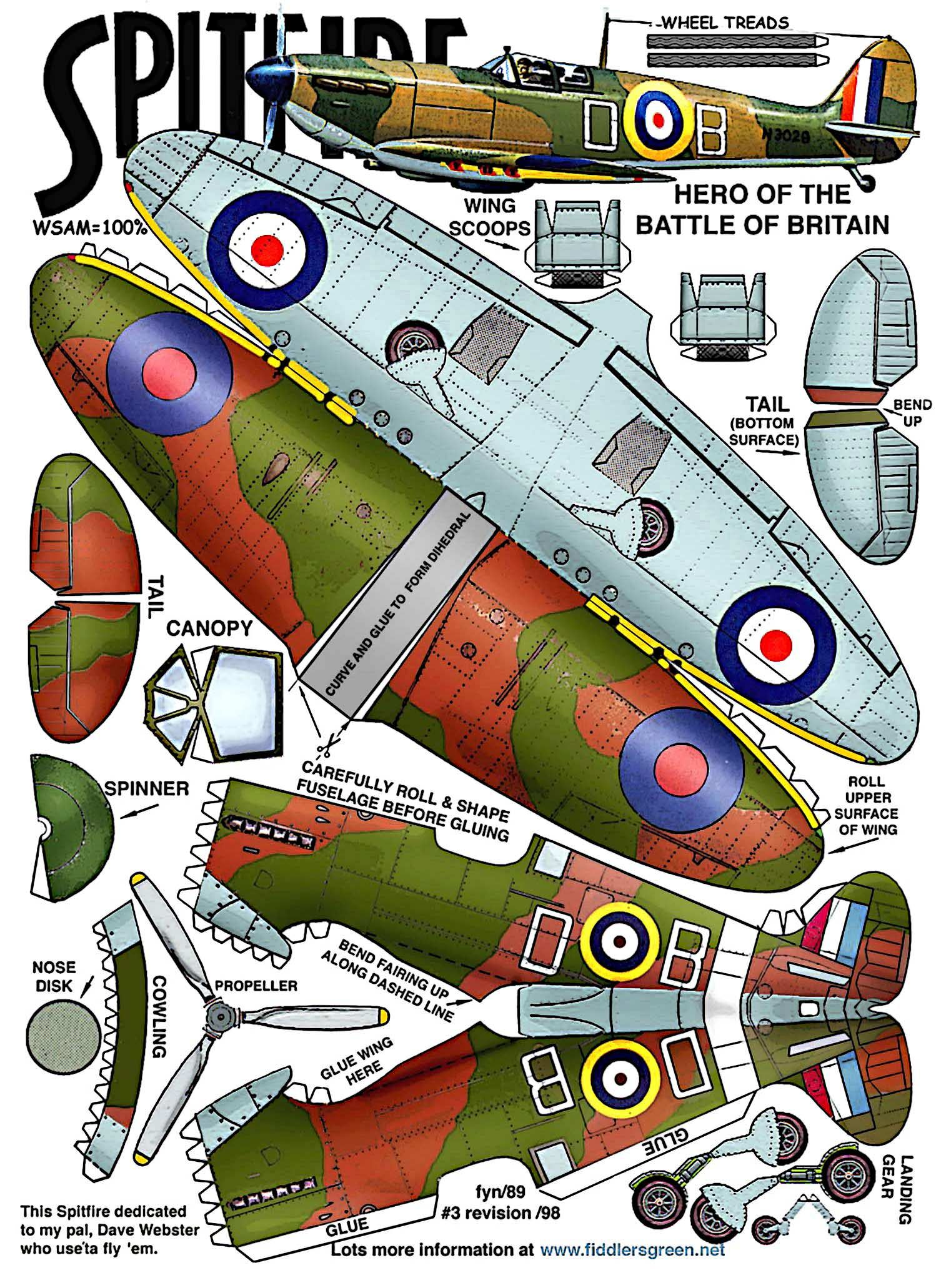 Playing and Crafting: SpitFire | Paper Plane | Pinterest ...