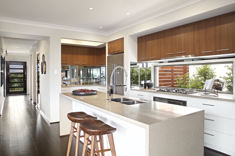 picturesque island kitchen modern. Clarendon Homes. Paddington City 30. Beautiful Island Bench \u0026 View Of Butlers Pantry. Picturesque Kitchen Modern C