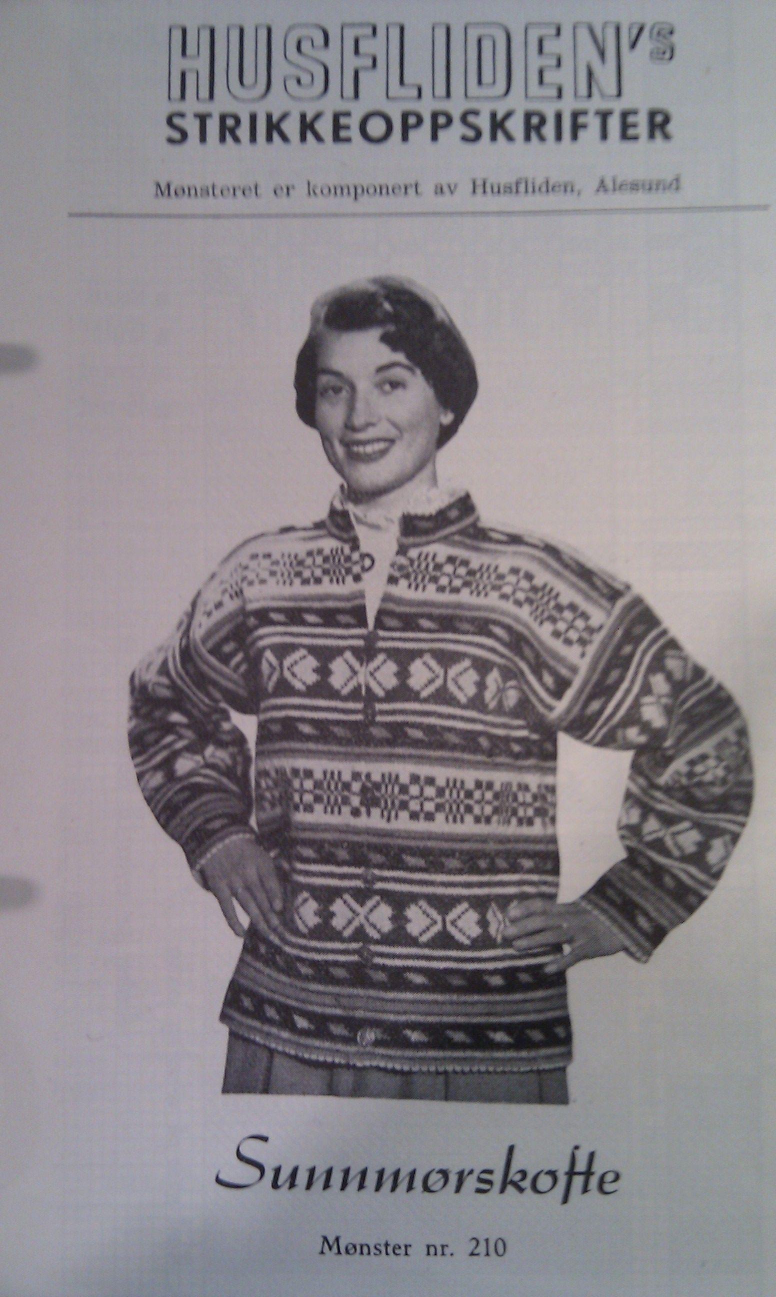 Sunnmørskofte 210 | Old norwegian knitting | Pinterest