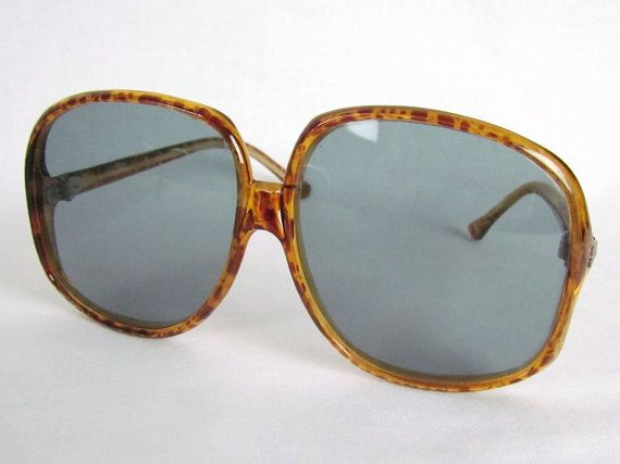 Items similar to Sunglasses Tortoise MOD 1960's Oversized Lenses Optical Eyewear Classic on Etsy