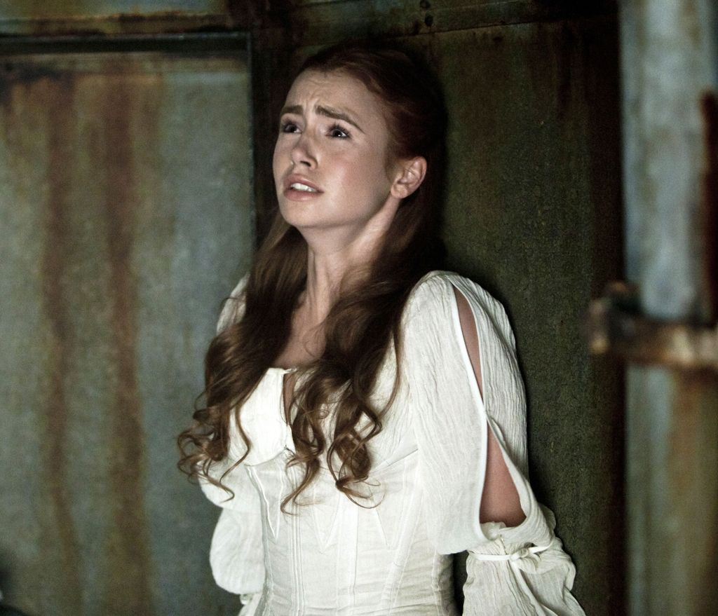 priest lily collins | ...
