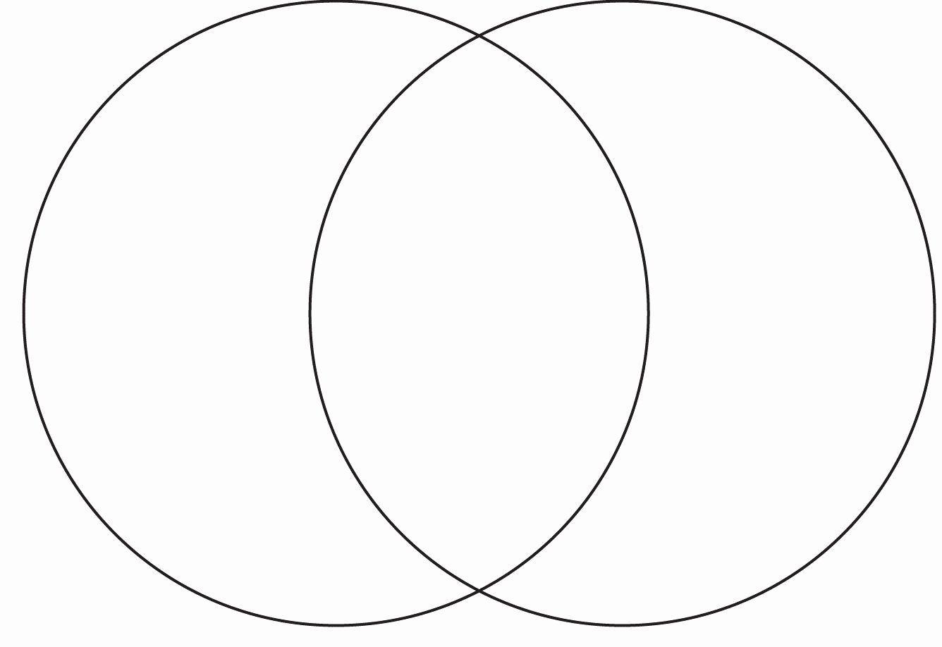 Venn Diagram Template Doc Elegant Printable Page Size Venn