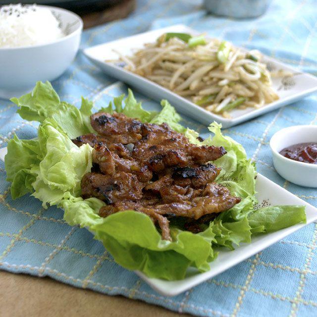 PORK BULGOGI | Bulgogi, Cooking recipes, Food