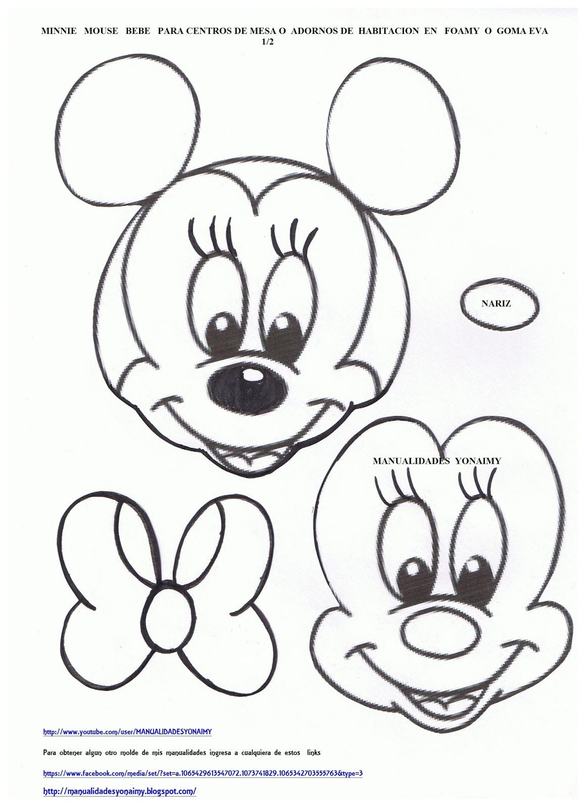 Mickey Mouse Paper Crafts