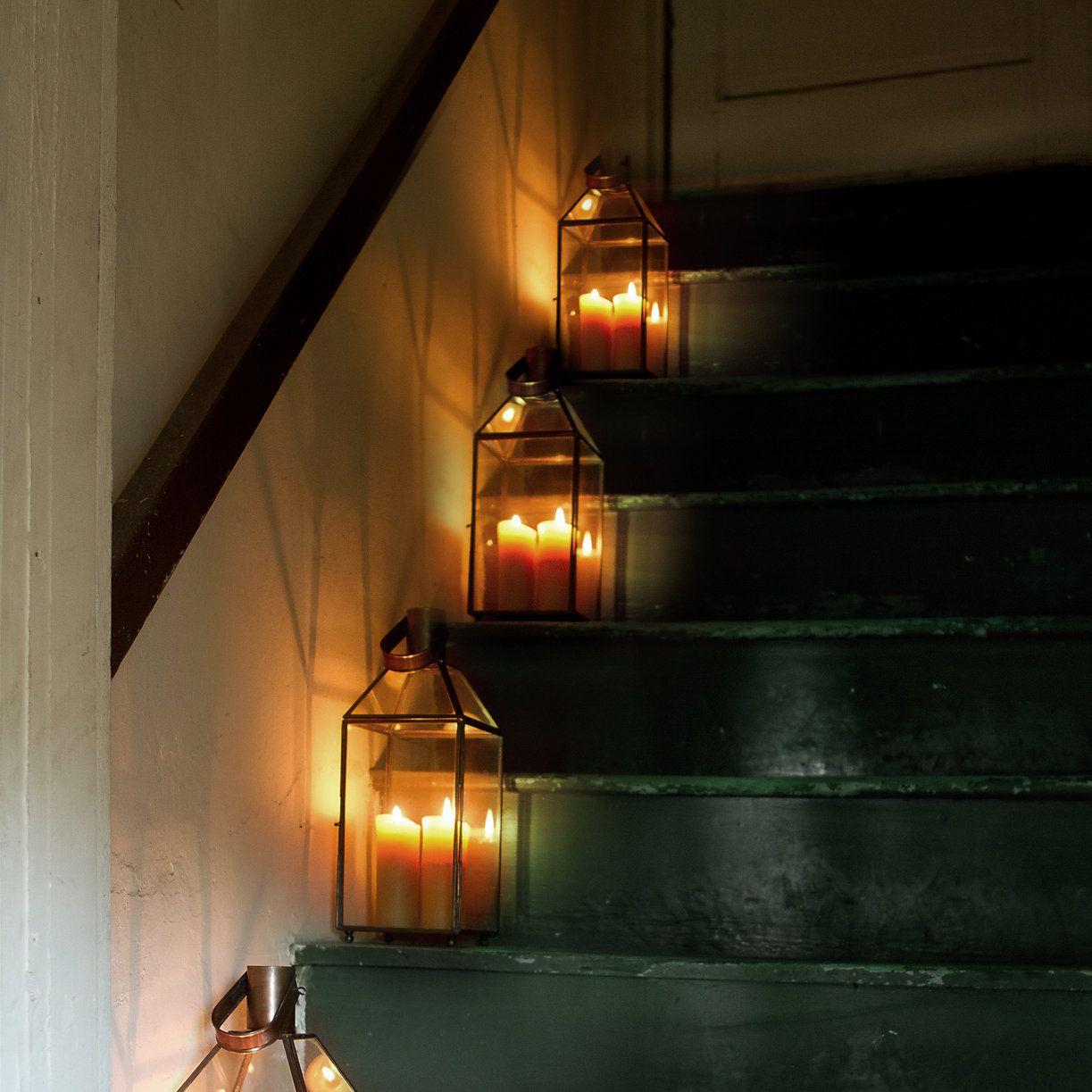 Copper & Glass Lanterns | Making a Home | Pinterest | Outdoor living ...