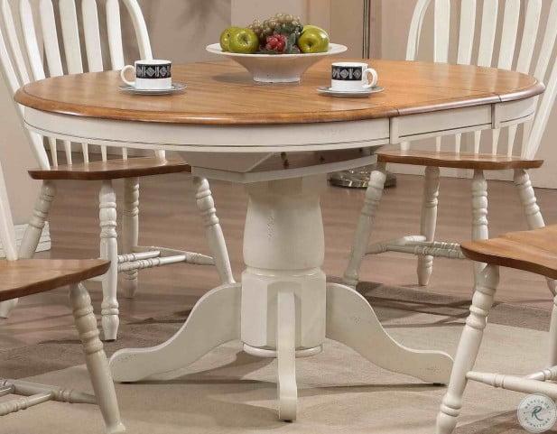Missouri White Pedestal Extendable Dining Table In 2021 Round Kitchen Table Pedestal Dining Table Pedestal Kitchen Table