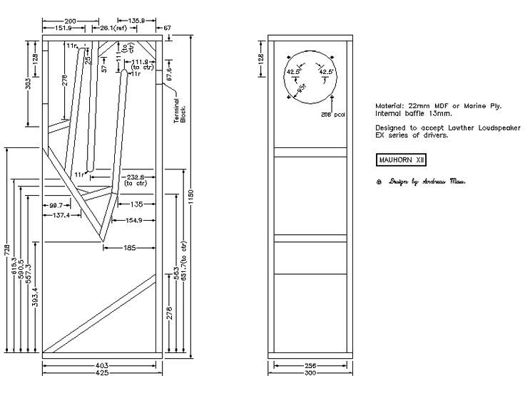 Fullrange-Speakers™ | Speaker Plans | Speaker design ...