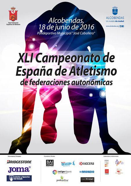 12135 Atletismo Xli Campeonato De España De Federaciones Autonómicas Polideportivo Municipal José Caballero Alcobendas Madrid Atletismo Federacion España
