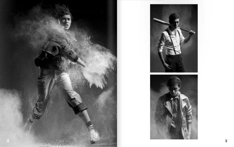Photographe Portrait et mariage à Paris . Hooligan Homme Mode Bad boy Photo Camille Collin  Styling Diane Cabasse