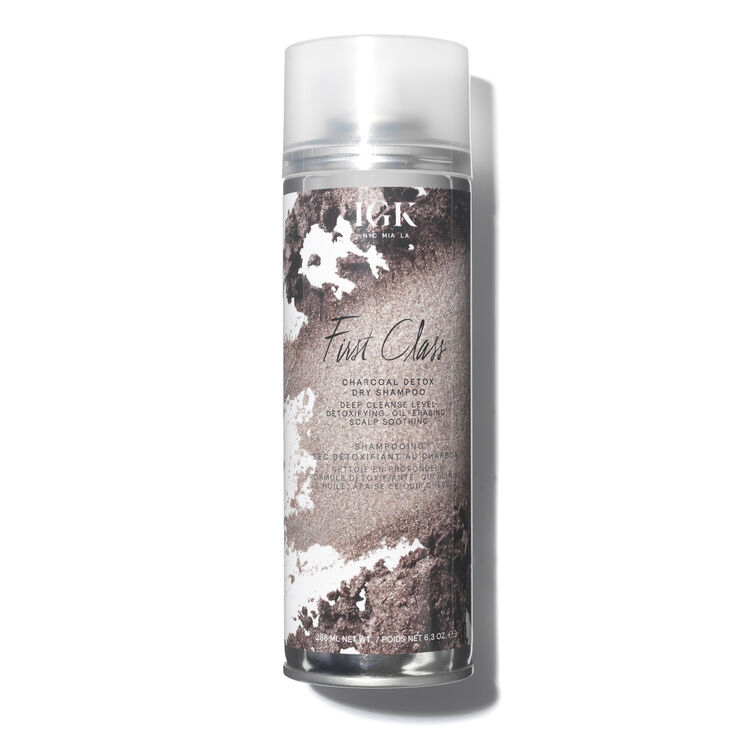 Igk Hair First Class Charcoal Detox Dry Shampoo Dry Shampoo Charcoal Detox Using Dry Shampoo