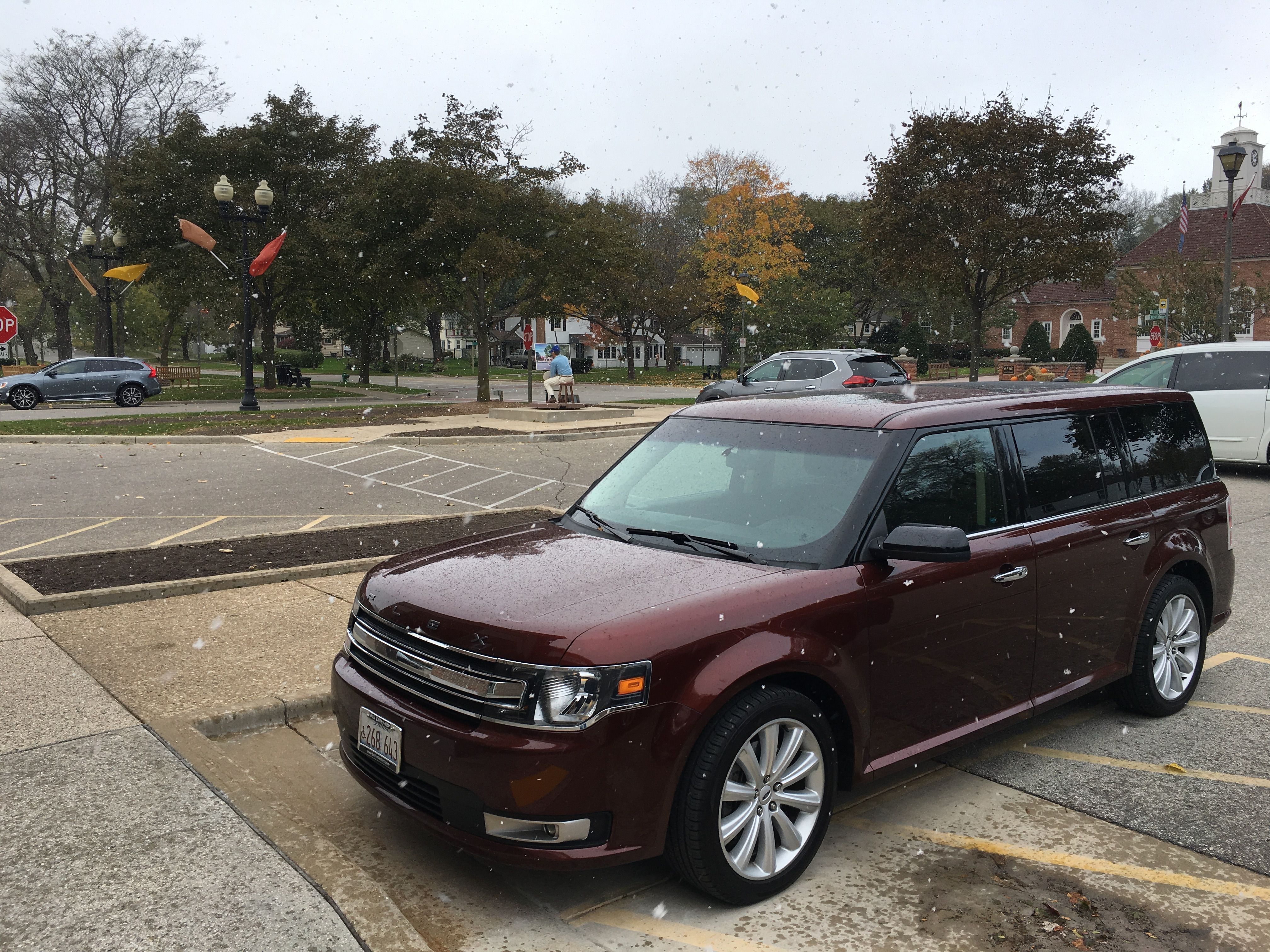 Ford Flex On A Little Trip To Downtown Greendale Wisconsin Today