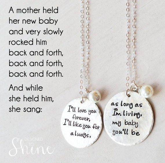 38+ I ll love you forever jewelry ideas
