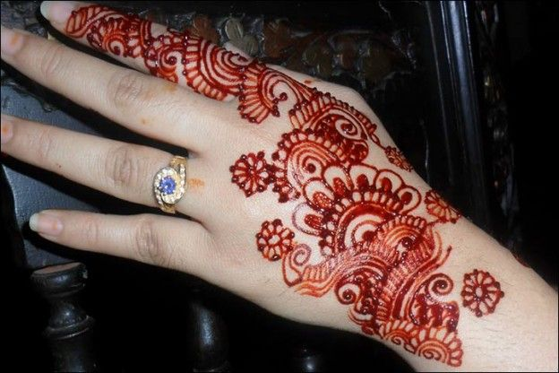 10 Latest Red And Black Mehndi Designs For You Mehndi Design