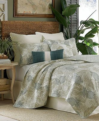 Tommy Bahama Bedding Pineapple Paradise Quilt Collection