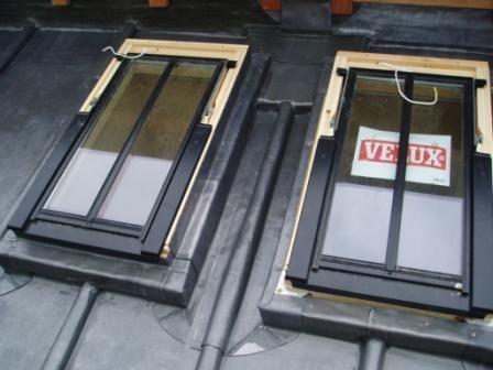 Velux In Lead Window Fenetre De Toit Velux Verriere De Toit