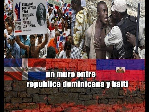 Image result for muro entre haiti y la republica dominicana