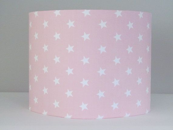 Lamp shades for baby nursery thenurseries baby rooms handmade lamp shades for nursery light pink white aloadofball Images