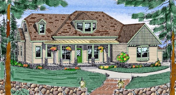 Clifton 3700 4 Bedrooms And 2 Baths The House Designers House Plans Architectural Design House Plans Greenhouse