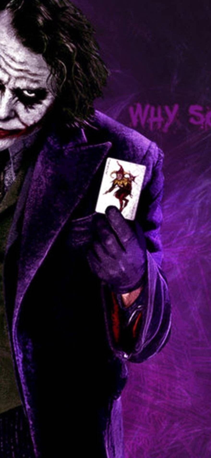 Joker why so serious iphone wallpaper hd