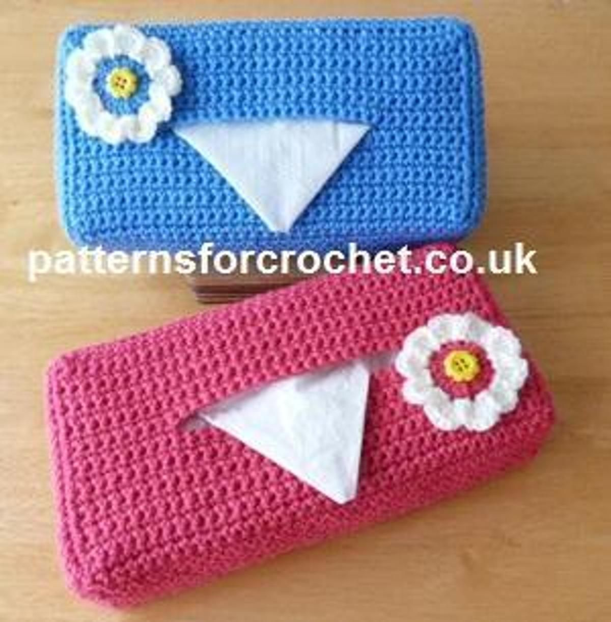 pfc228-Tissue Box Cover crochet pattern | Craftsy | crochet ...