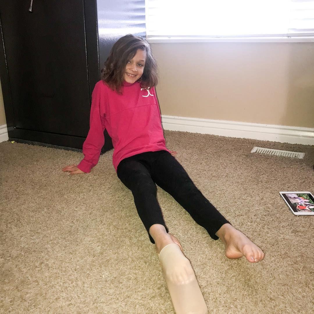Stretching | 2013 - Peyton stretching at gymnastics