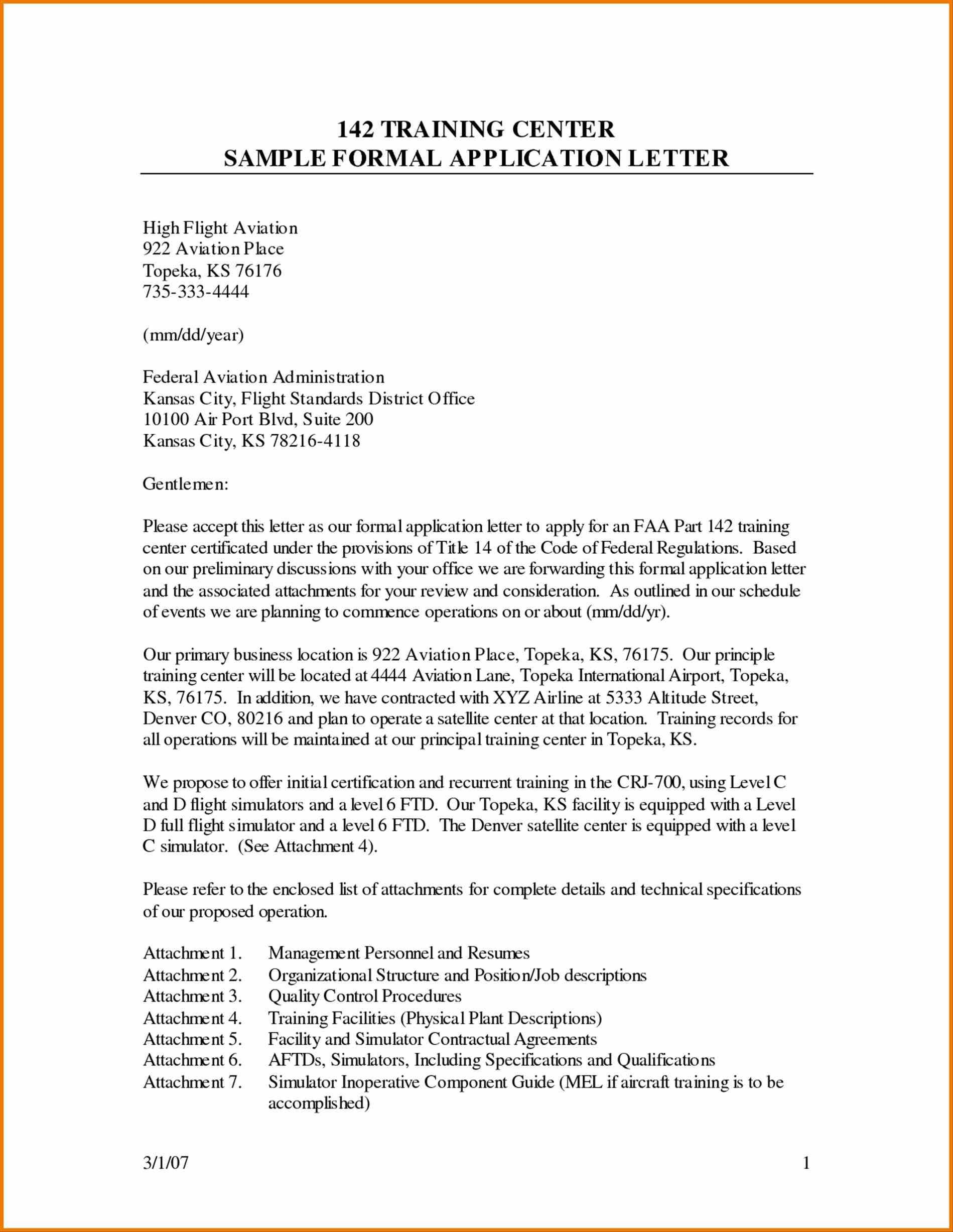 Sample Business Samples The Best Formal Letter Format Template