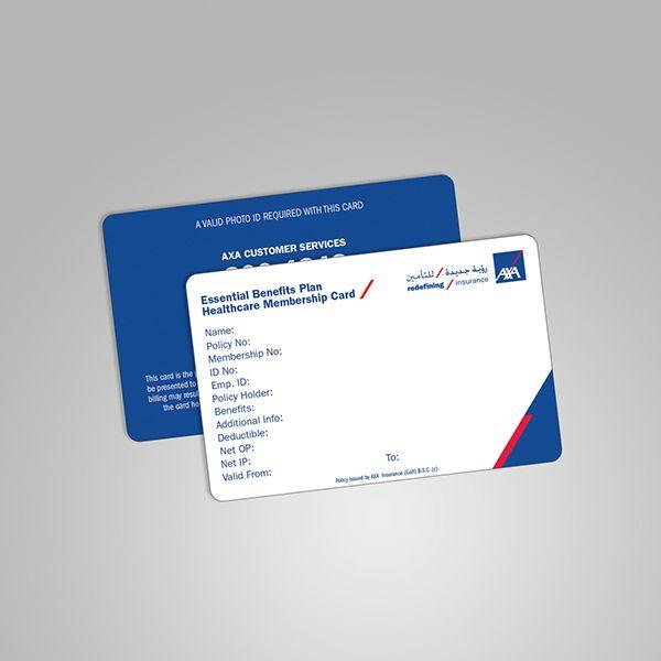 AXAs Healthcare Cards On Behance