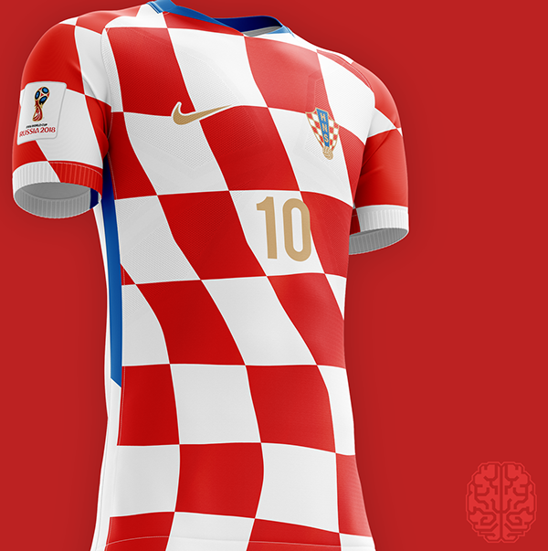 FIFA World Cup 2018 Kits Redesigned on Behance | Fifa world