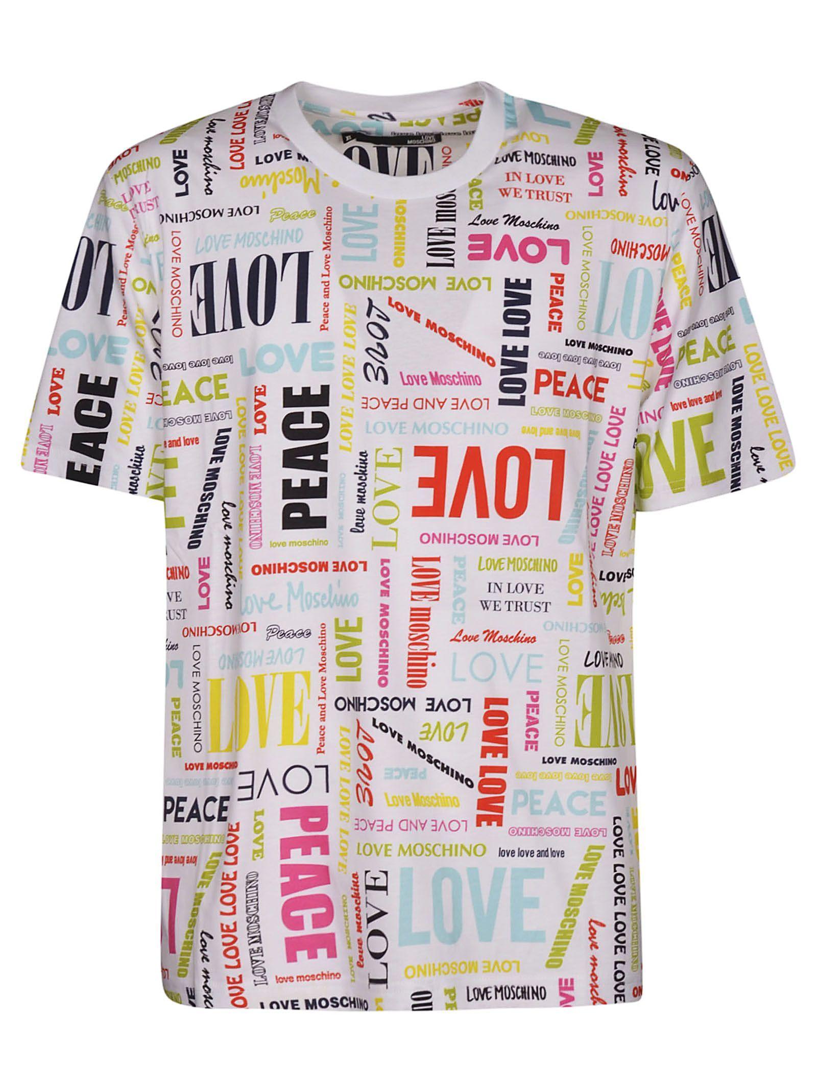 Love Moschino Graphic Logo T Shirt Lovemoschino Cloth Tshirt Logo Moschino Love Moschino