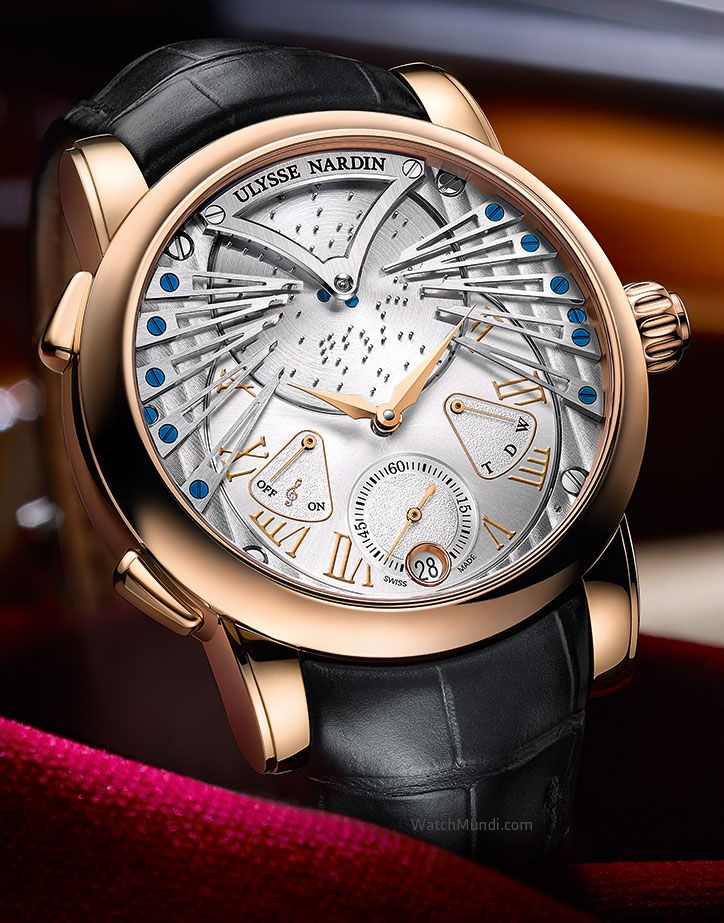 Ulysse Nardin - Stranger Vivaldi. Musical mechanical watch performs the  Vivaldi melody. 110e24feae
