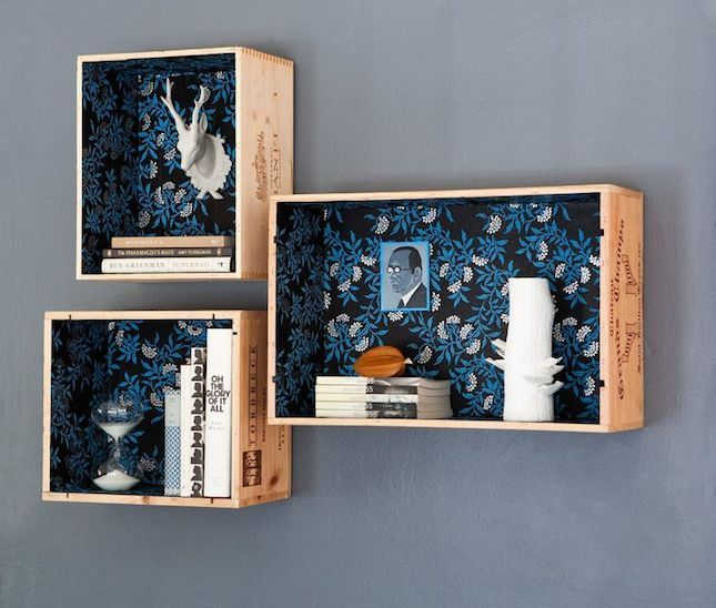 16 Creative Ways To Upcycle Used Wine Crates Deco Caisse De Vin