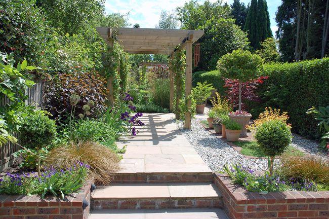 long and narrow garden design - Поиск в Google | интерьер ...