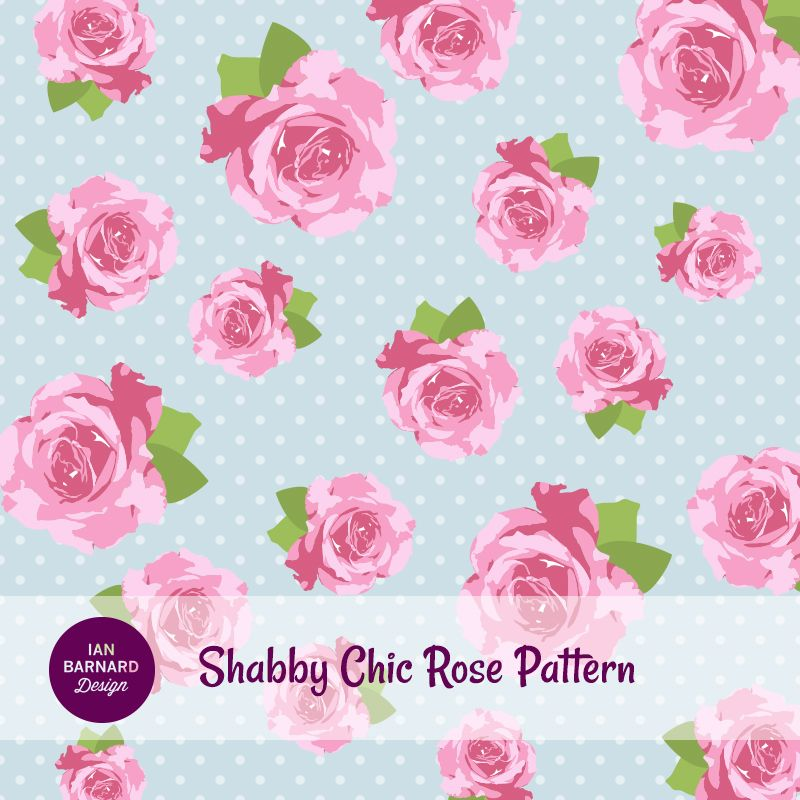 Shabby Chic Rose Wallpaper Pink Rose Shabby Chic Pattern