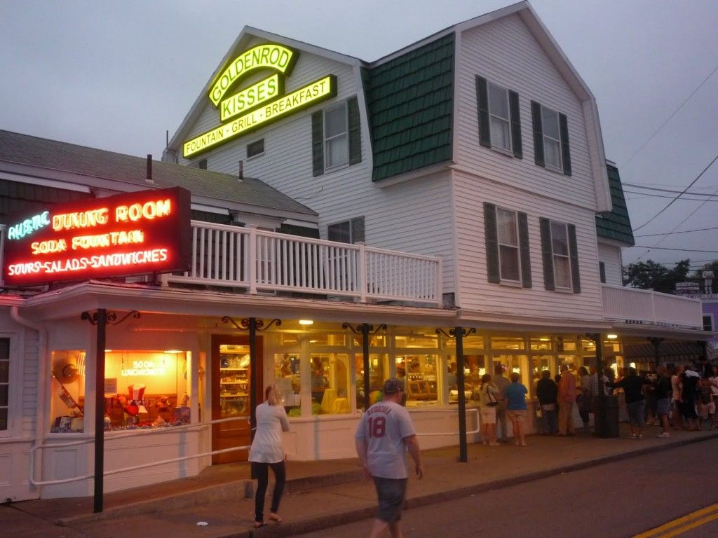 The Goldenrod in York Beach, Maine Specializes in Salt