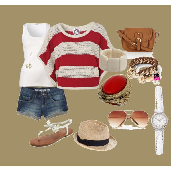 spring break, created by taffany-hill on Polyvore