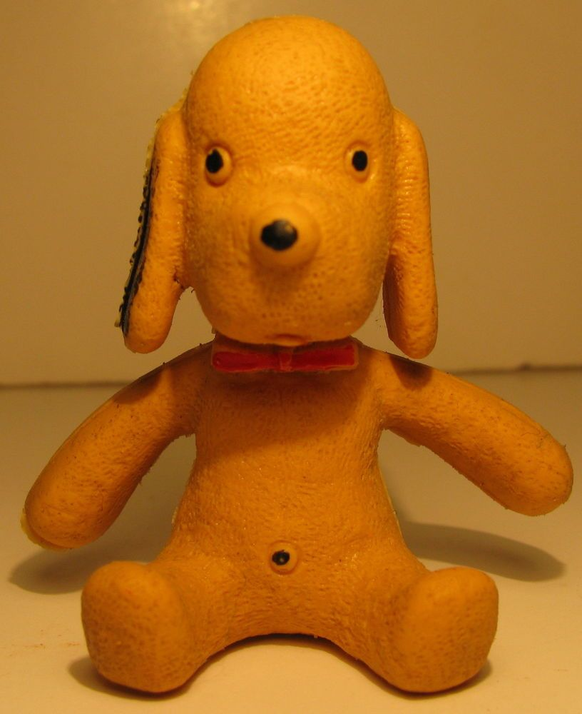 Henry Toy Dog Vintage Soft Rubber 2 Tall Toy Henry By Animal Fair