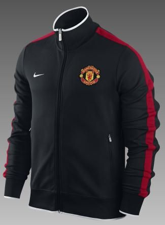 on sale fece3 a1d4c Nike Manchester United Football Club N98 Authentic Men s Soccer Jacket