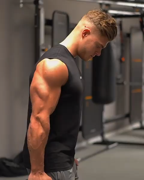 Have you trained upper body yet this week? Save this video and add it to your next workout! #Gymshar...