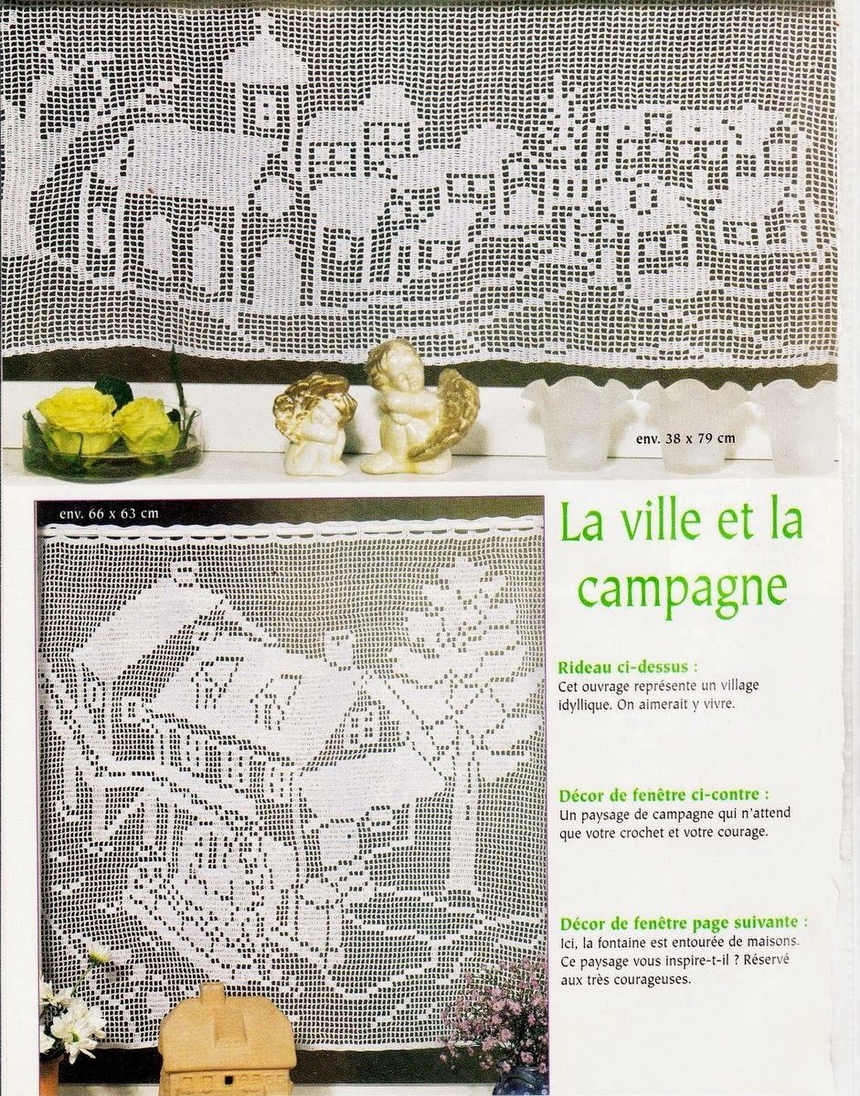 Craft mit der Liebe ... von Lu Guimarães: Vorhänge mit Grafiken ...