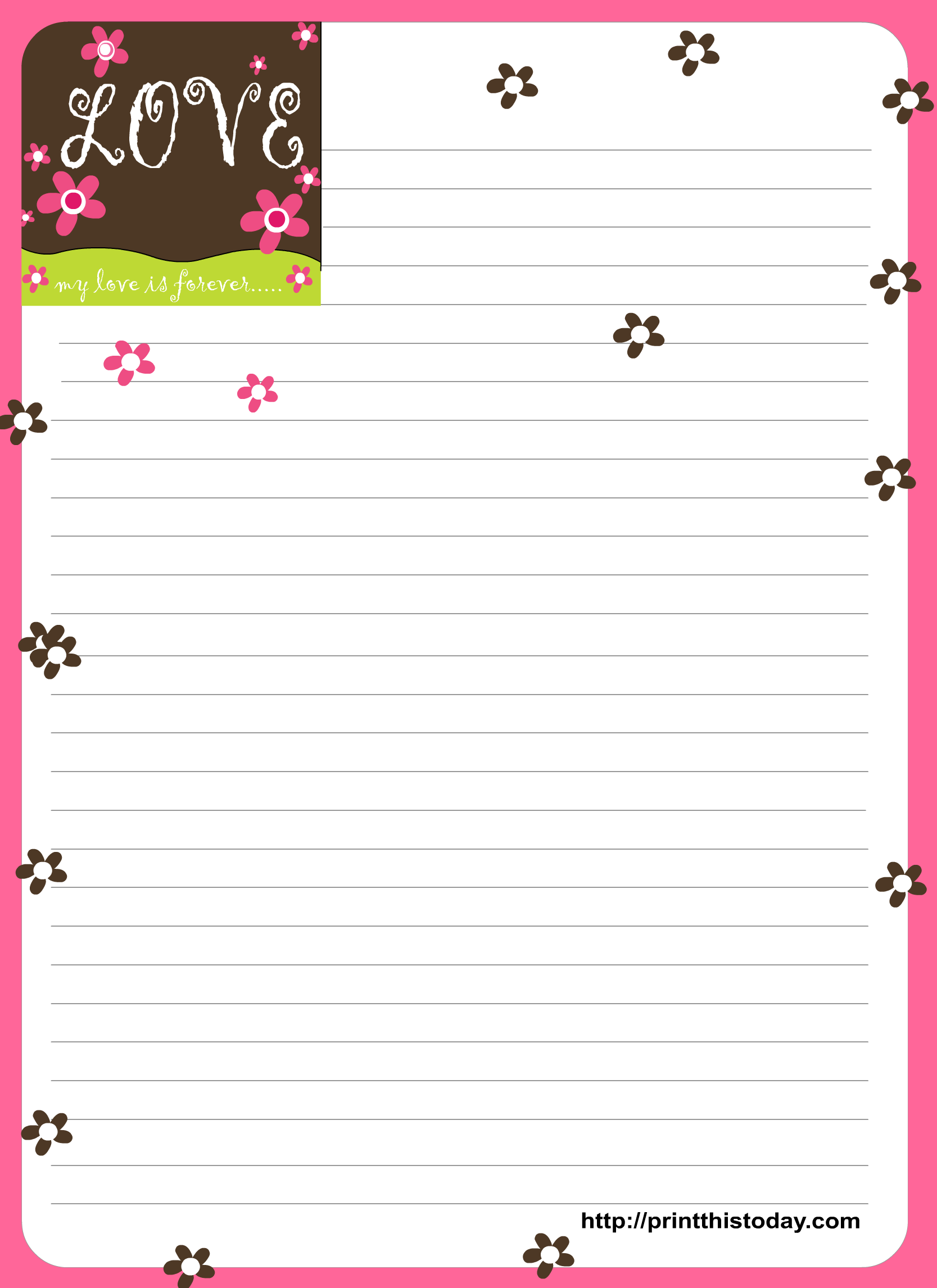 18 best photos of letter writing paper printable free printable