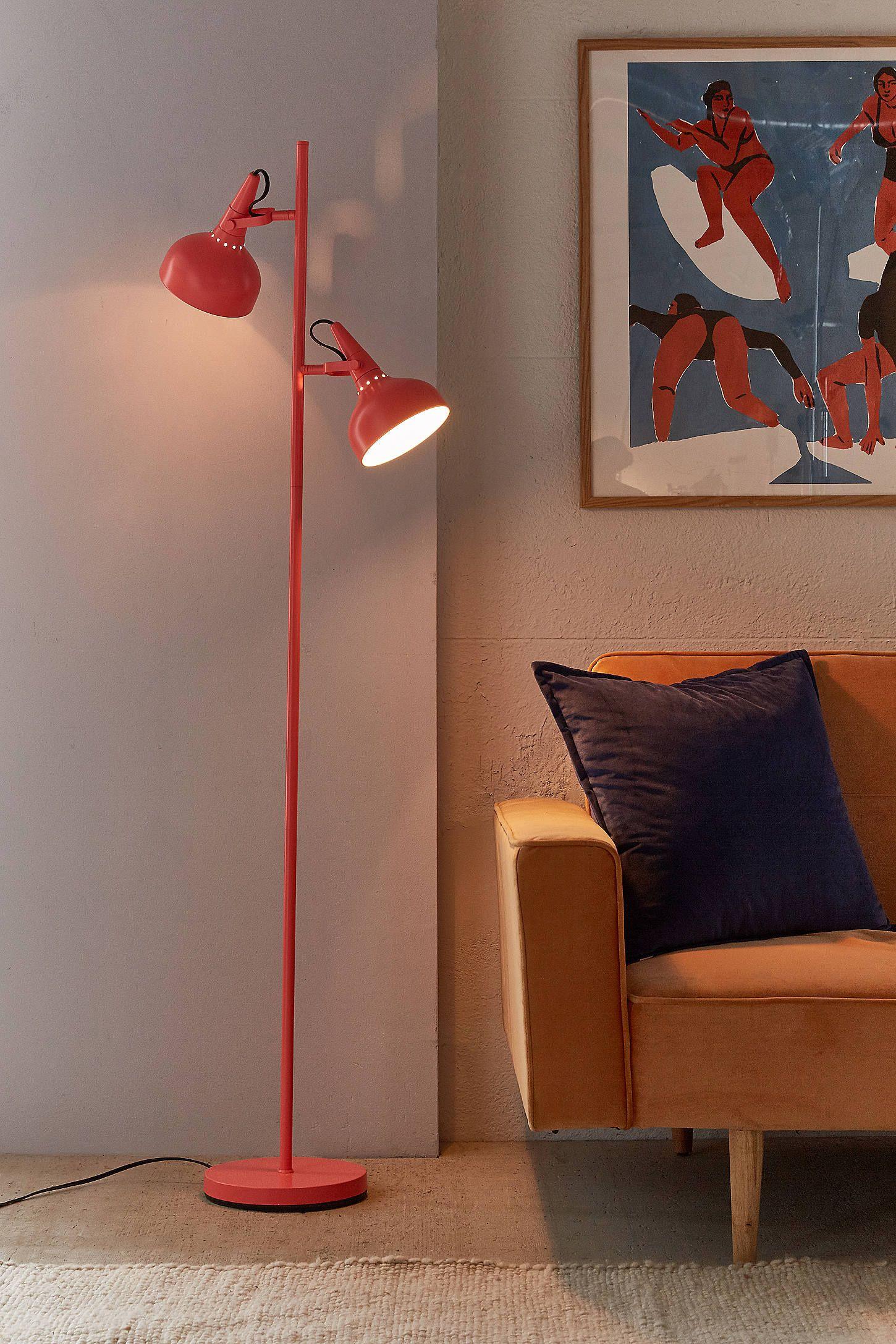 Urban Outfitters Lowry Floor Lamp Modern floor lamps