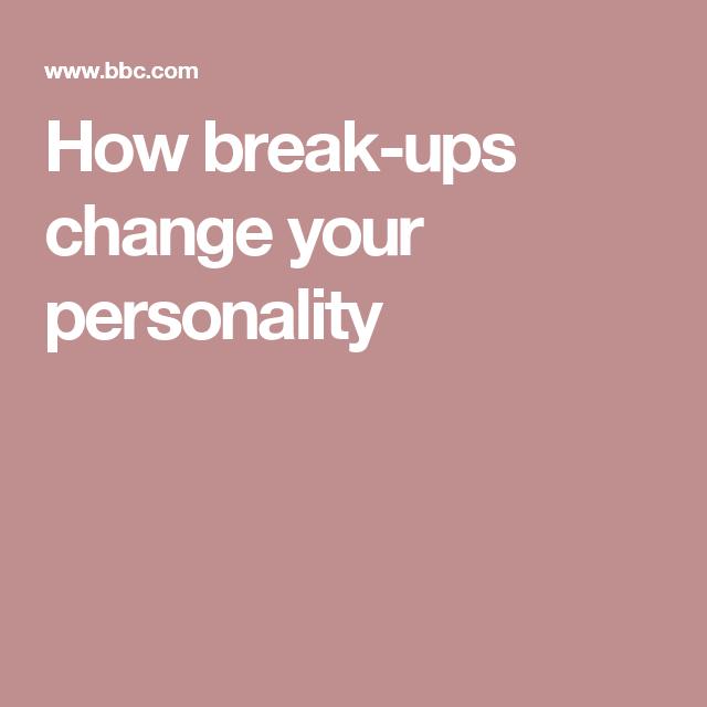 How break-ups change your personality | Breakup Kids ...