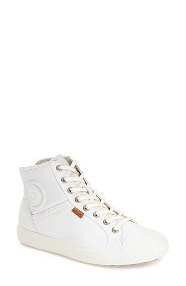 Ecco Soft 7 High Top Sneaker Women Available At Nordstrom