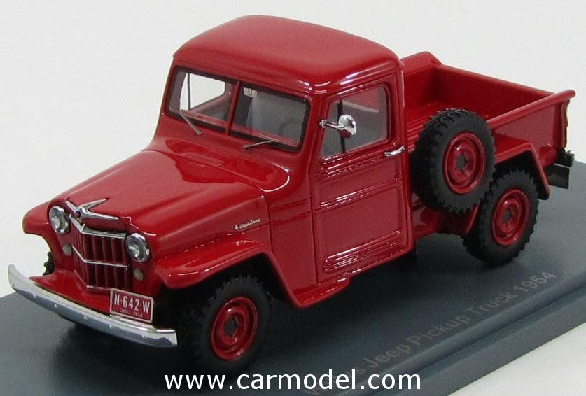 NEO SCALE MODELS NEO44642 1/43 JEEP WILLYS PICK-UP 1954