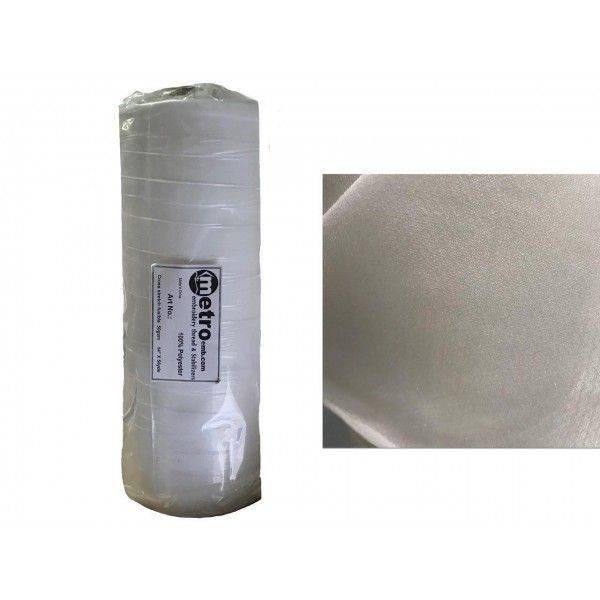 "Polymesh Cross Stretch Fusible  14""X50   50GMS"