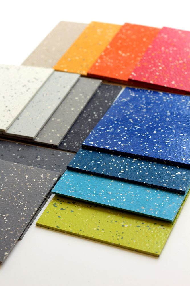 flex solid rubber flooring available in 24 standard colors ideal rh pinterest com
