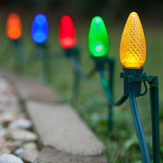 How To Make Pole Trees The Simple Mega Tree Outdoor Christmas Tree Christmas Light Displays Christmas Display
