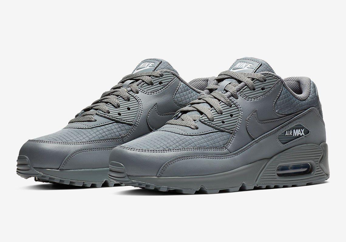 Nike AIr Max 90 Triple Grey AJ1285 017 Release Info   that