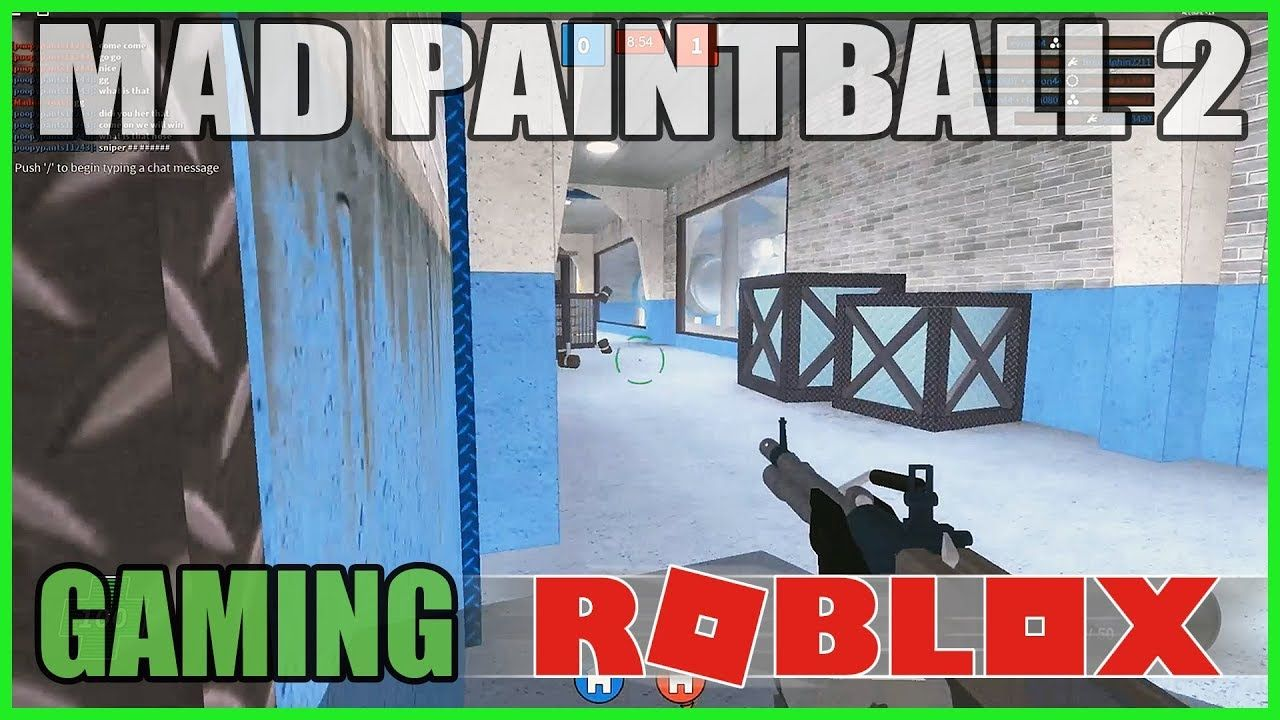 Roblox Mad Paintball 2 Capture The Flag Madeline Now