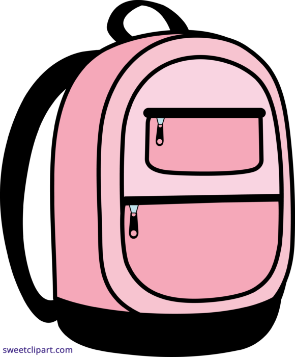 school backpack pink clipart | school backpack pink, clip art, cute tumblr  pictures  pinterest